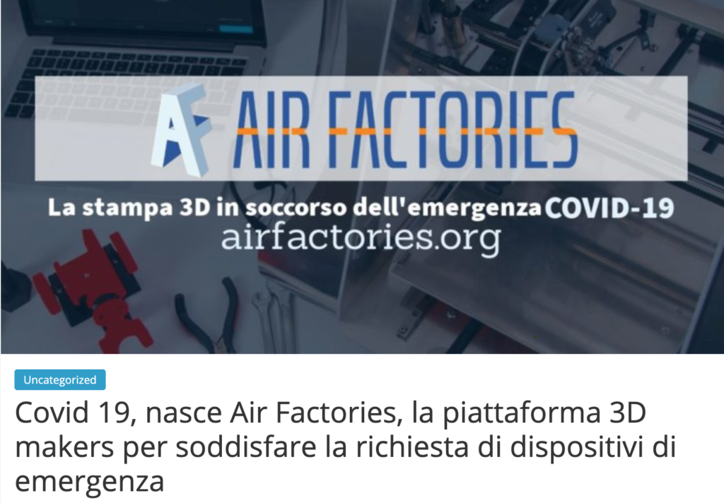 Airfactories.org - rassegna stampa - gvnews.it