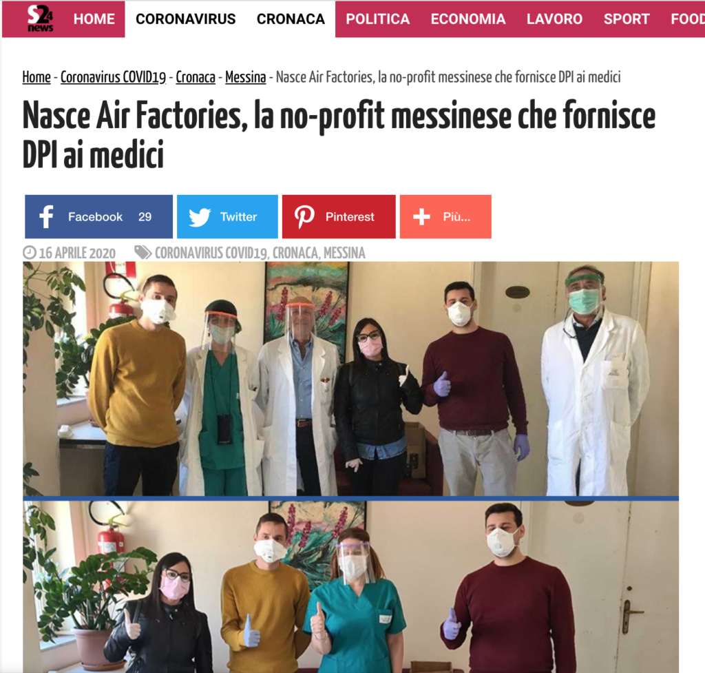 Air Factories press - sicilianews24